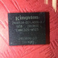 Kingston EMMC32G-M525