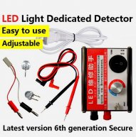 Adjustable LED Light Dedicated Detector