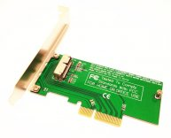 Adapter to PCI-E 4X for Apple 2013-15 MacBook Air SSD