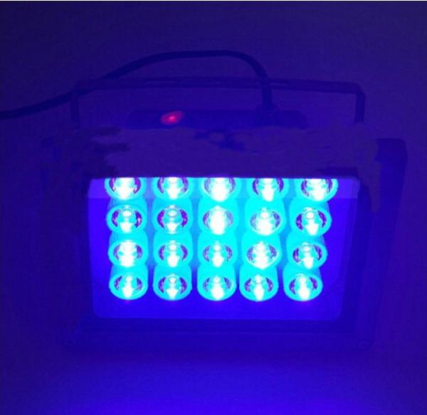 Attractive 20W LED UV Curing Light Ultraviolet Lamp Glue Dryer