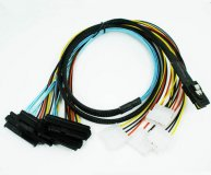 SAS 36P SFF-8087 to SAS 29P SFF-8482 power x4 SAS Cable