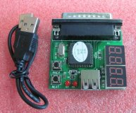 4 Bits Laptop LPT Diagnostic Card