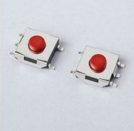 100pcs Tactile Push Button SMD Switches 5pin 6x6x3.7mm