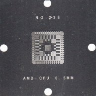 AMD-CPU Stencil 80x80mm