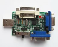 USB Programmer for Burning LCD Controller Board