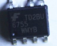 6755MYC FAN6755WMYB 6755 7pin LCD IC