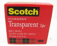 3M Scotch Transparent Tape 19mm x 32.9M