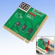 2 Bits Motherboard Diagnostic Card