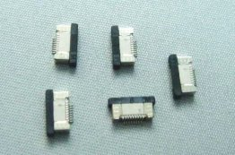 5pcs FFC/FPC Connector 8pin Pitch 0.5mm Bottom Contact