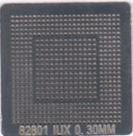 82801 IUX Stencil Heat Directly