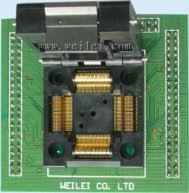 Adapter WL-TQFP80-M410