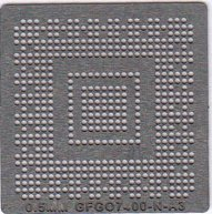 GF GO7400-N-A3 Stencil Heat Directly