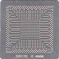 SR17E BGA Stencil Template Heat Directly