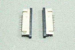 5pcs FFC/FPC Connector 10pin Pitch 1.0mm Bottom Contact